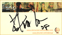 ASIF card autograph