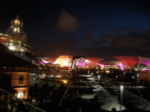 Shanghai Expo at night