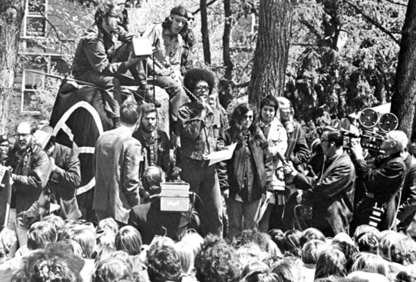 MSU protest, May 1970
