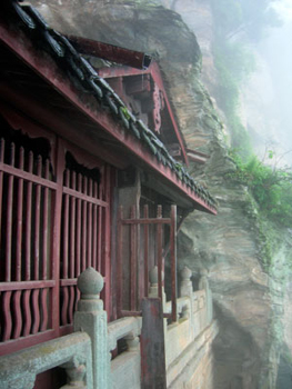 Wudang cliff temple